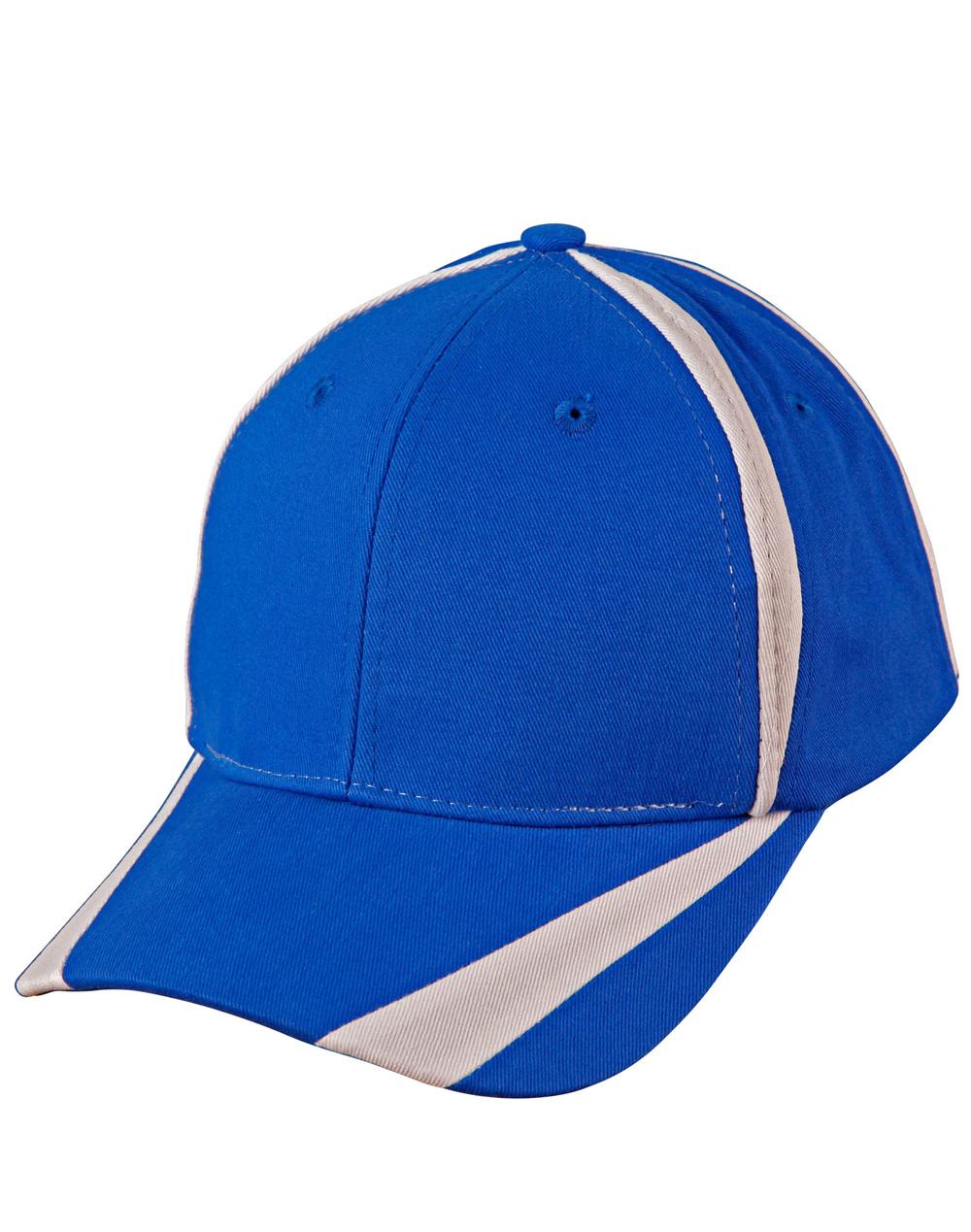 CH81 PEAK & CROWN CONTRAST CAP – Key Promotional Products